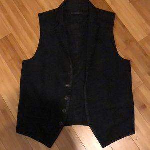 Men's express black vest